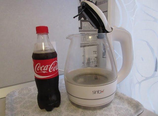 Использование лимонада для очистки бытовых приборов