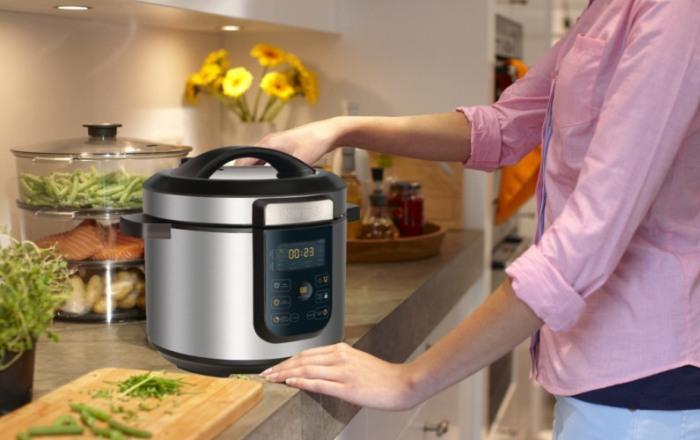 Удобный прибор для приготовления пищи на кухне