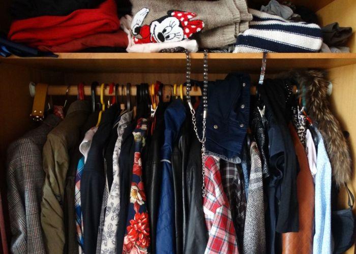 Классическая методика хранения вещей в шкафу