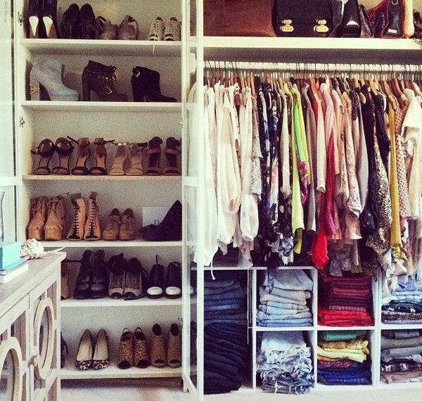 Типичный женский гардероб
