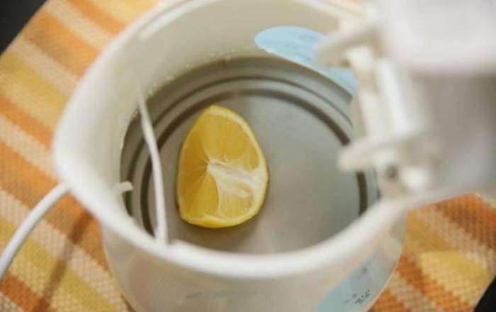 Народное средство для чистки техники - долька лимона
