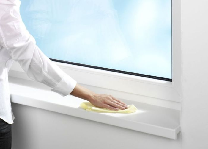 Комплексное мытье окон и подоконников в квартире