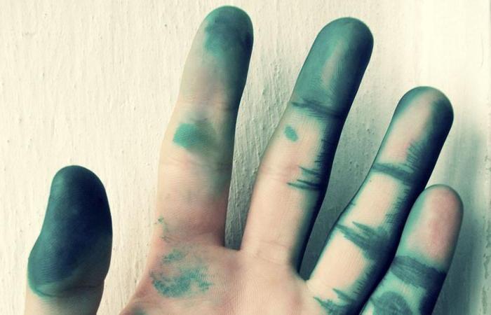 Пальцы успешно обработаны