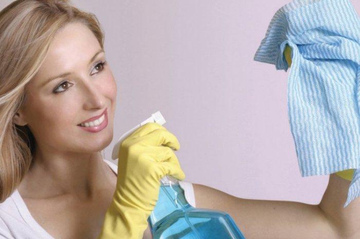 Применение во время уборки качественных материалов и инструментов
