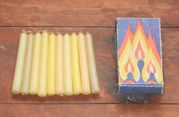 Парафиновые свечи есть у каждого