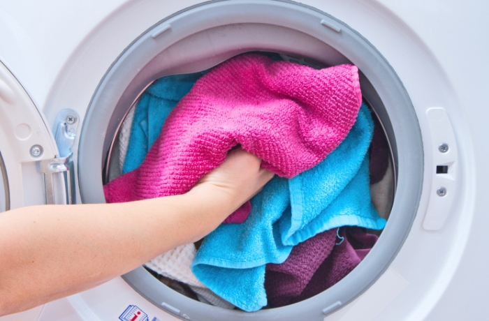 Стирка в чистой стиральной машине