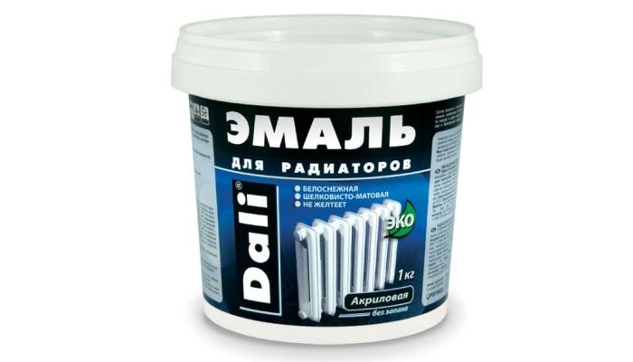 Акриловая эмаль для радиаторов отопления