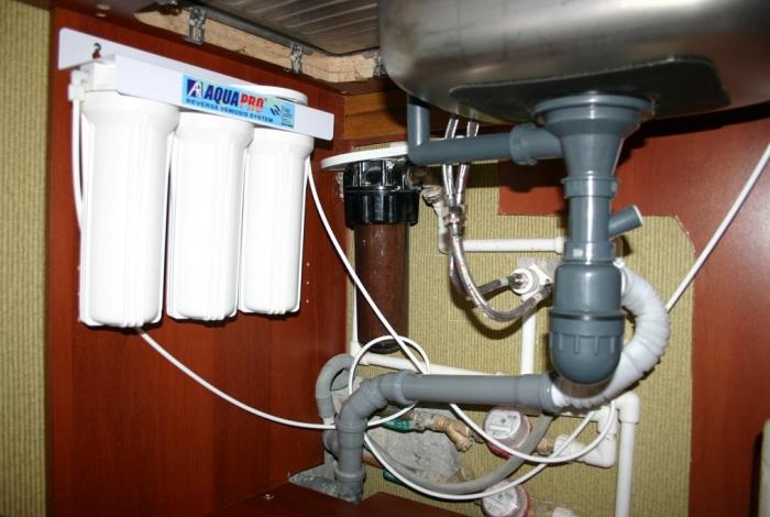 Фильтры для воды на кухне