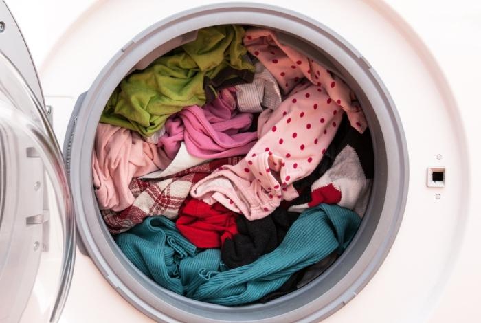 Полная загрузка барабана стиральной машины
