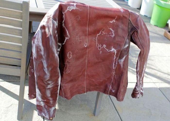 Стирка куртки явно не удалась