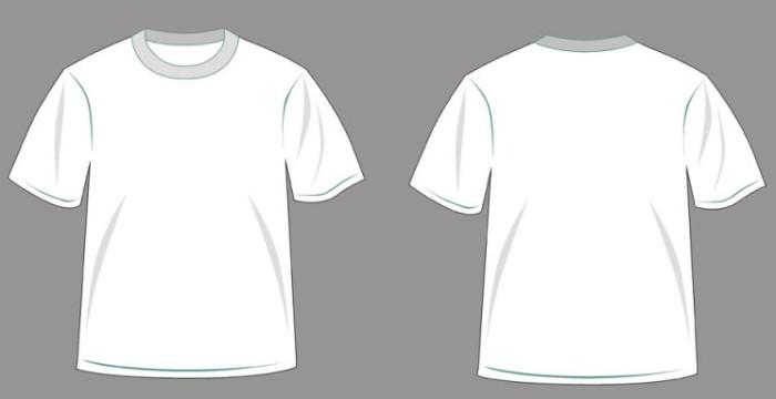 Мужская футболка белого цвета