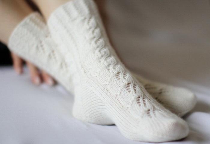 Теплые и удобные шерстяные носки