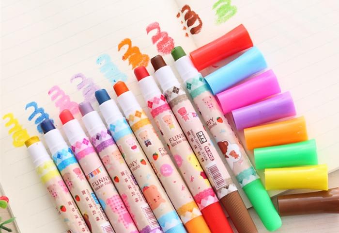 Маркеры для детей различных цветов