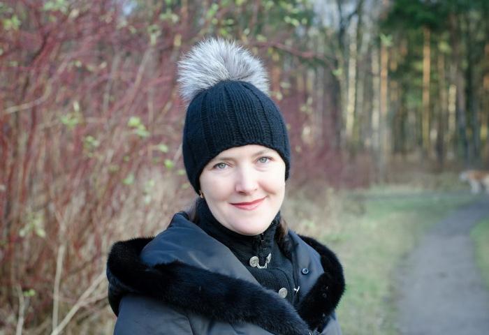 Шикарный помпон на вязаной шапке