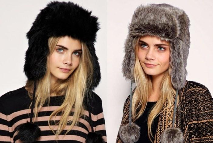 Теплые шапки на зиму