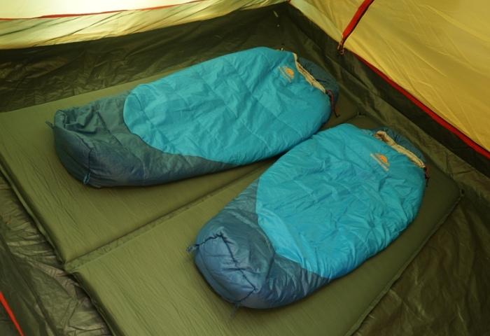 Правильное применение спальных мешков