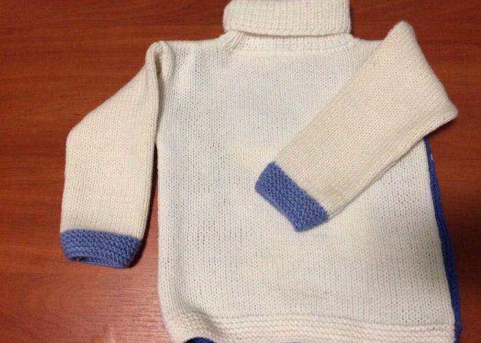 Вязаное изделие после сушки