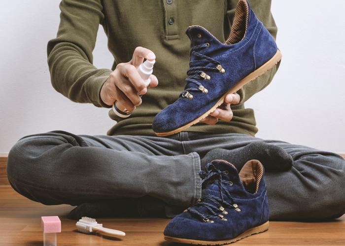 Методики ухода и стирки обуви из замшевого материала