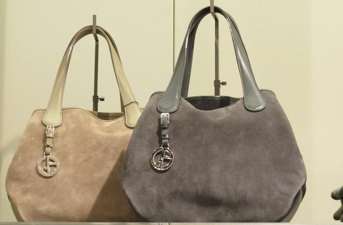 Красивые сумки из замшевого материала