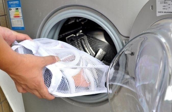 Загрузка обуви в стиральную машину