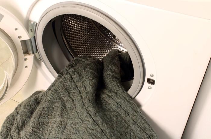 Стирка свитера в стиральной машине
