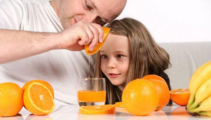 Получение апельсинового сока