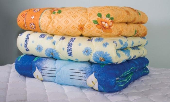 Детские ватные одеяла с разной расцветкой