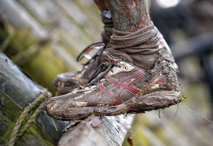 Кроссовки в ужасном состоянии