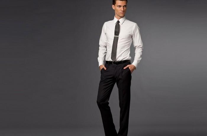 Стрелки на классических брюках