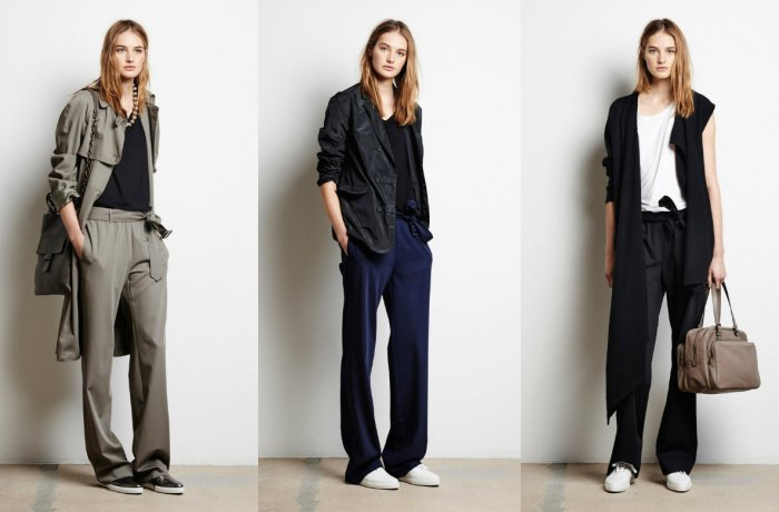 Модные женские брюки современных фасонов