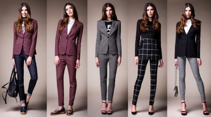 Женские брюки оригинальных моделей
