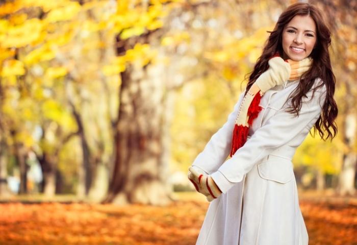 Теплое пальто для ношения осенью