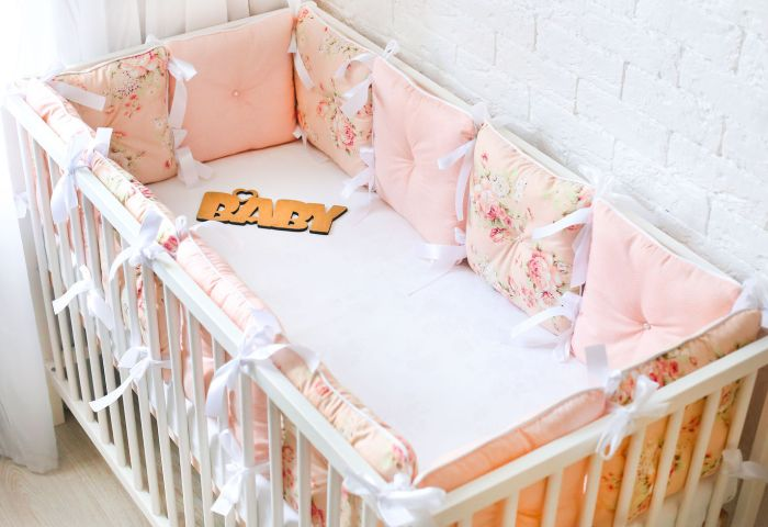 Бамперы для кроватки в виде подушек