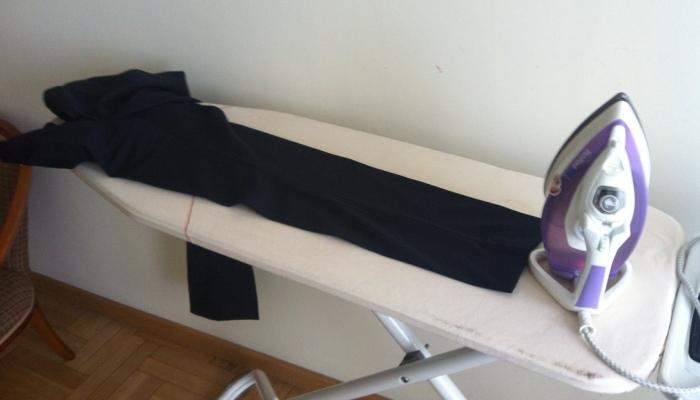 Формирование стрелок на брюках