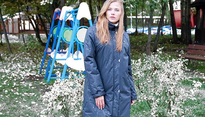 Теплая куртка из современных материалов