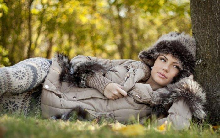 Женская одежда на холодный период
