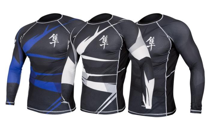 Удобная спортивная футболка для единоборств