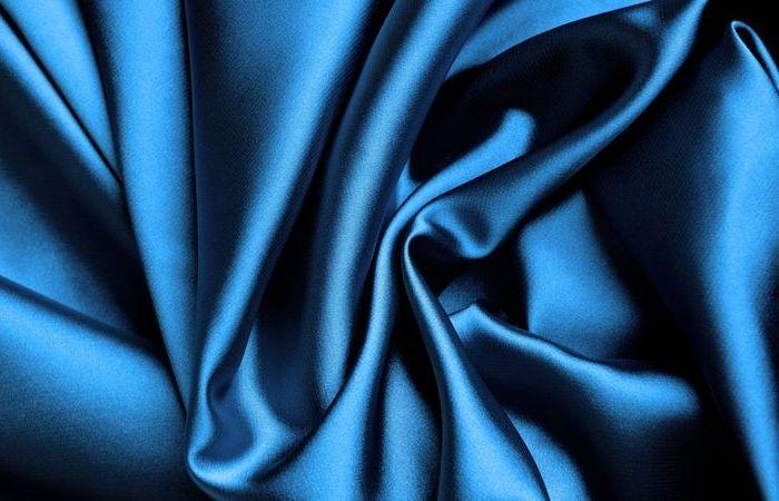 Классический вид атласной ткани