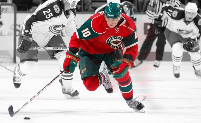 Чистая хоккейная форма на игроке