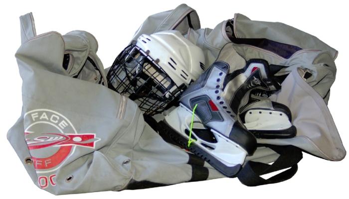 Хоккейная форма в большой сумке