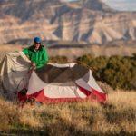Как постирать палатку