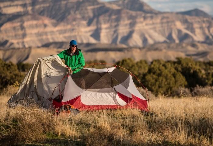 Палатка для отдыха в походе