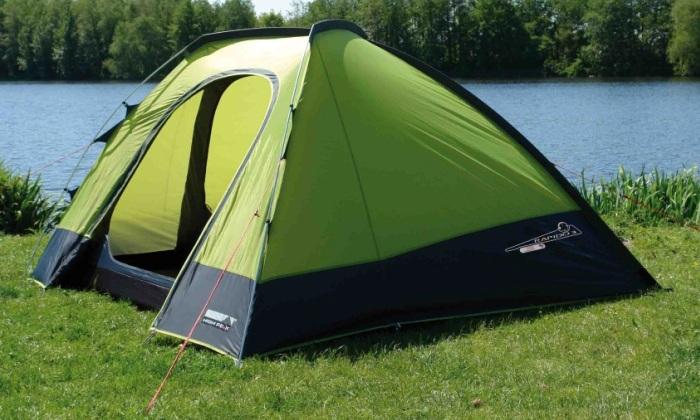 Сушка палатки перед сборкой
