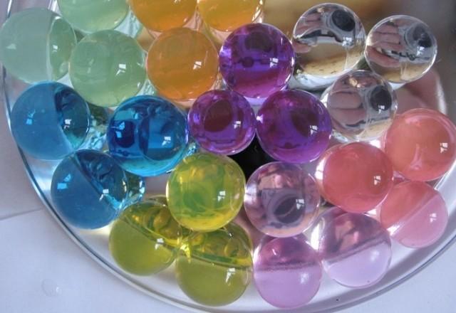 Цветные гидрогелевые шарики