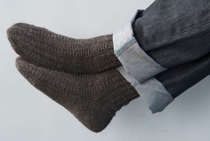 Мужские носки из шерсти