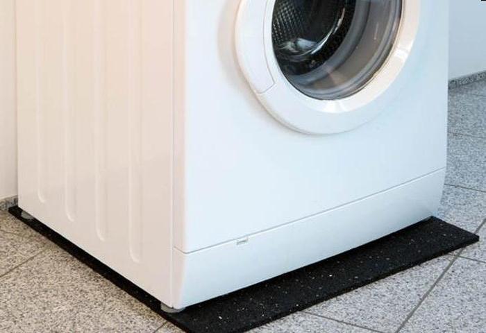 Tapis anti vibration lave linge tapis universel pour - Tapis anti vibration lave linge leroy merlin ...