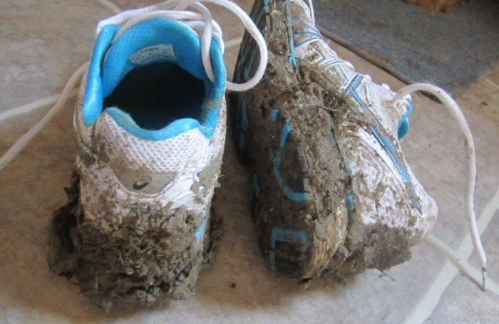Обувь требует качественной стирки