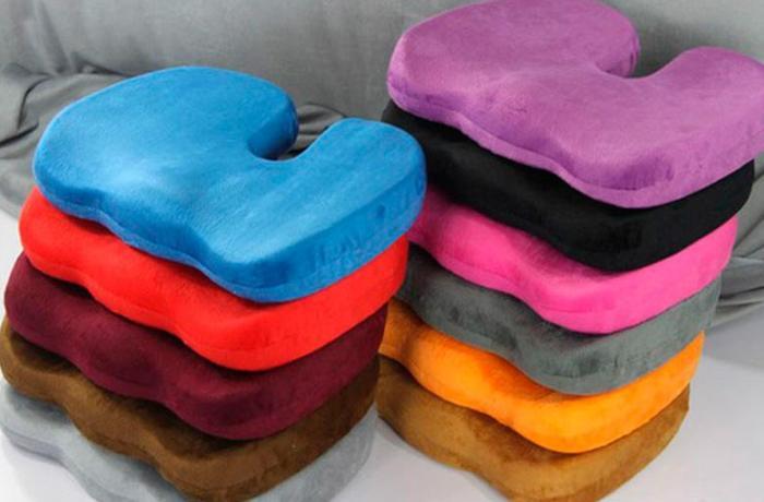 Цветные ортопедические подушки