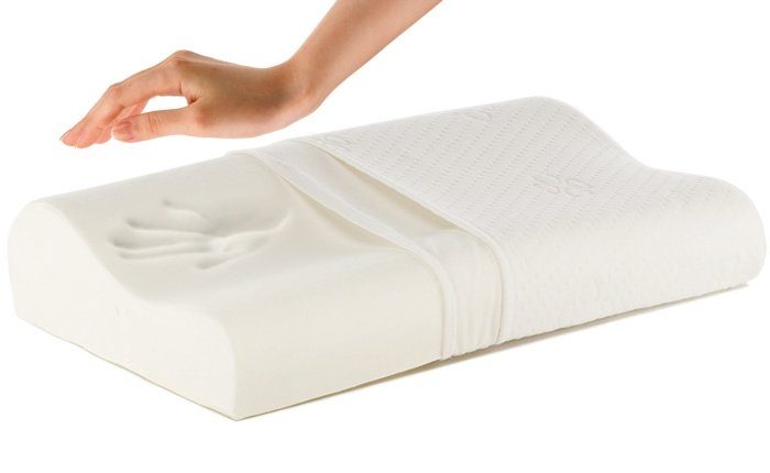 Удобная подушка с эффектом памяти