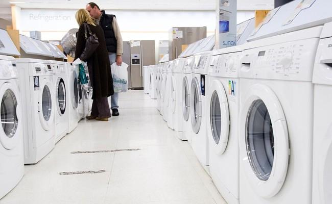 Огромный выбор стиральных машин в магазине